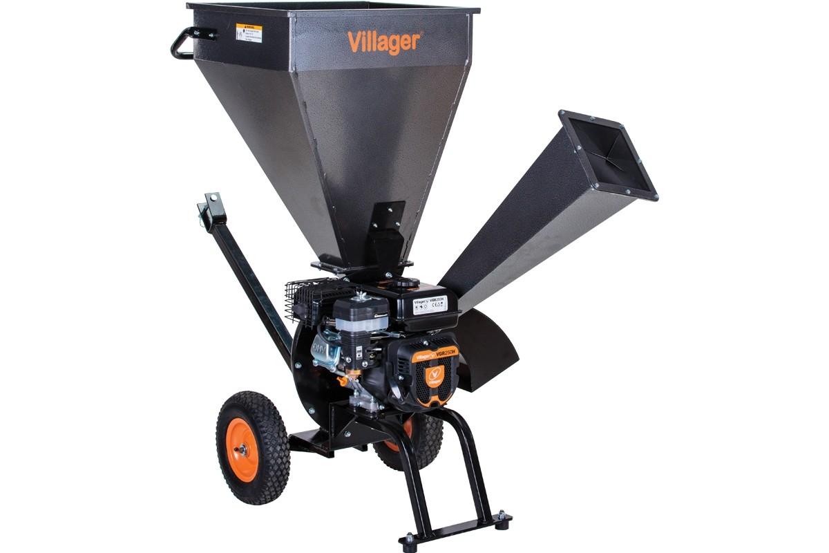 Tocător pentru crengi Villager VPC 250 S