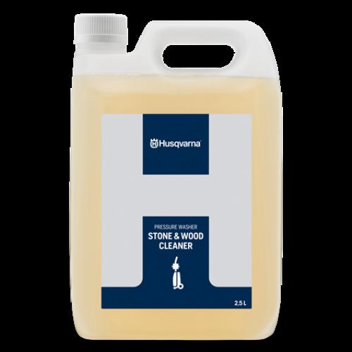 Solutie de curatat lemn si piatra Husqvarna 2,5 litri